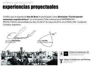 Cordoba certificado Ana 2014